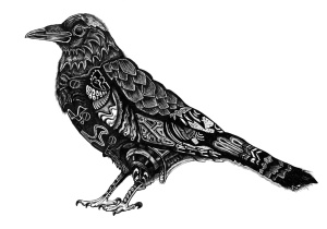 raven-drawing